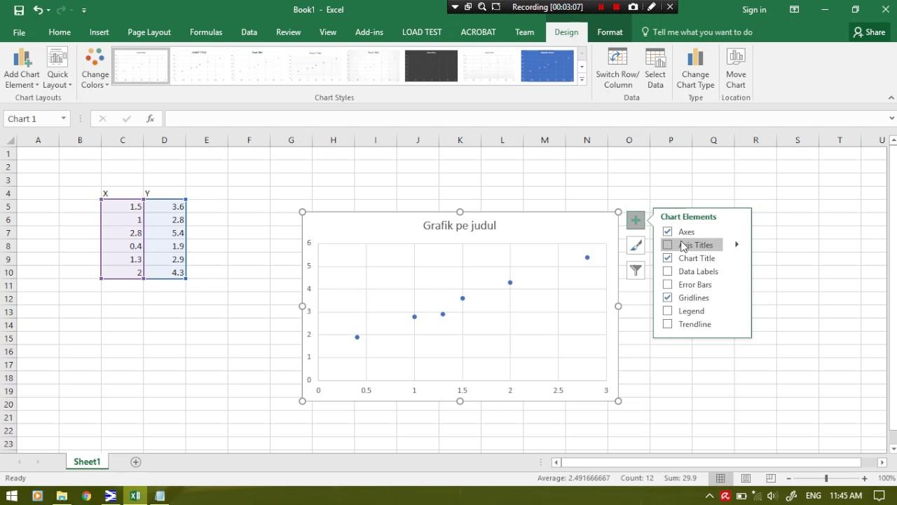 Tutorial membuat grafik regresi dan nilai korelasi dengan ms excel tutorial membuat grafik regresi dan nilai korelasi dengan ms excel ccuart Gallery