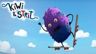 The Skate Jump | Kiwi & Strit | Cartoons for Kids | WildBrain Bananas