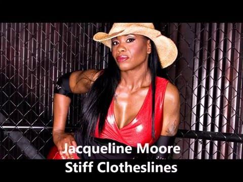 Jacqueline Moore- Stiff Clothesline