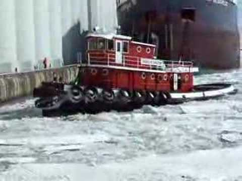 Tug at Work in the Ice