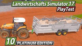 LS17 Platinum 🚜 Kühe und Irrfahrten ► #10 Landwirtschafts Simulator 17 deutsch PlayTest