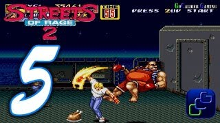 Streets Of Rage 2 Walkthrough - Part 5 - AXEL Stage 5