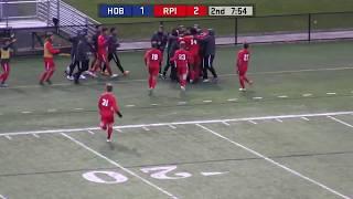 Men's Soccer vs. Hobart Highlights
