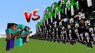 Minecraft Battle: NOOB PRO HACKER GOD VS 1000 HACKERS MUTANT CHALLENGE / Animation