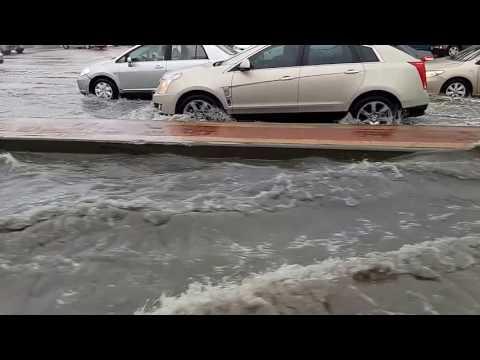 Flood in Dammam- Al Khobar, Saudi Arabia