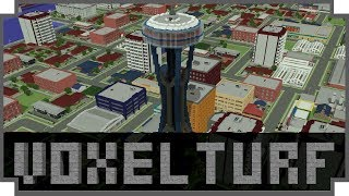 Voxel Turf - (Block Based City Builder / Action Game)