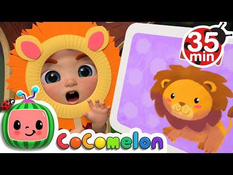 Guess the Animal Song + More Nursery Rhymes & Kids Songs - CoComelon - Видео онлайн