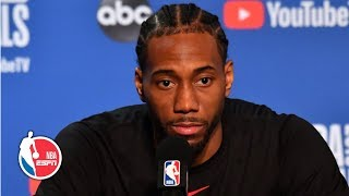 Download Kawhi's advice to KD: 'Attack each day' during rehab for ruptured Achilles | 2019 NBA Finals Mp3 and Videos