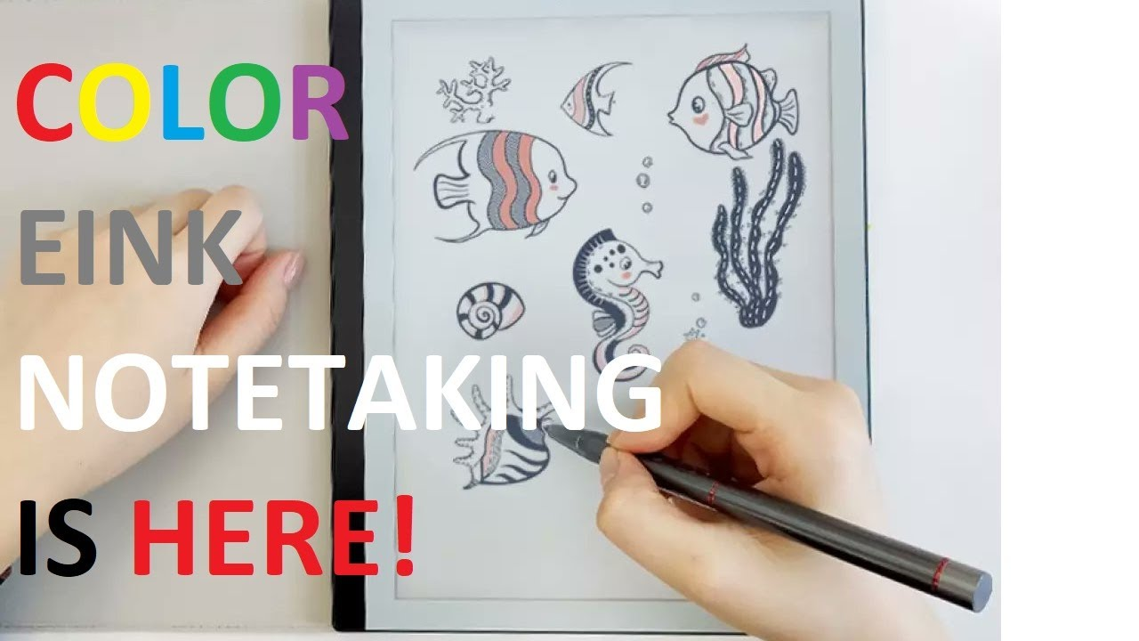 """Bigme B1 Pro COLOR 10.3"""" e-Ink WACOM Note Taking First Looks"""