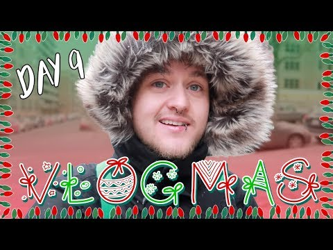 CHRISTMAS CARD DISCUSSION + GRILLED CHEESE TIME (VLOGMAS DAY 9)