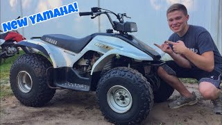 I Bought a New YAMAHA QUAD!