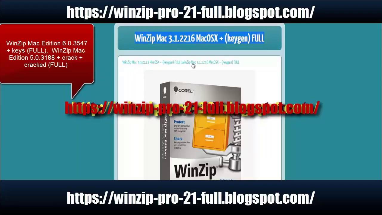 winzip mac download