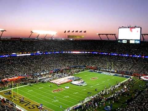Super Bowl XLIV National Anthem By Carrie Underwood & Flyover