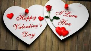 Вітання з Днем Святого Валентина.