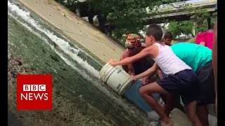Venezuela crisis:'There is simply no water' - BBC News
