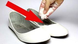 5 СПОСОБОВ избавить свою обувь от неприятного запаха раз и навсегда!