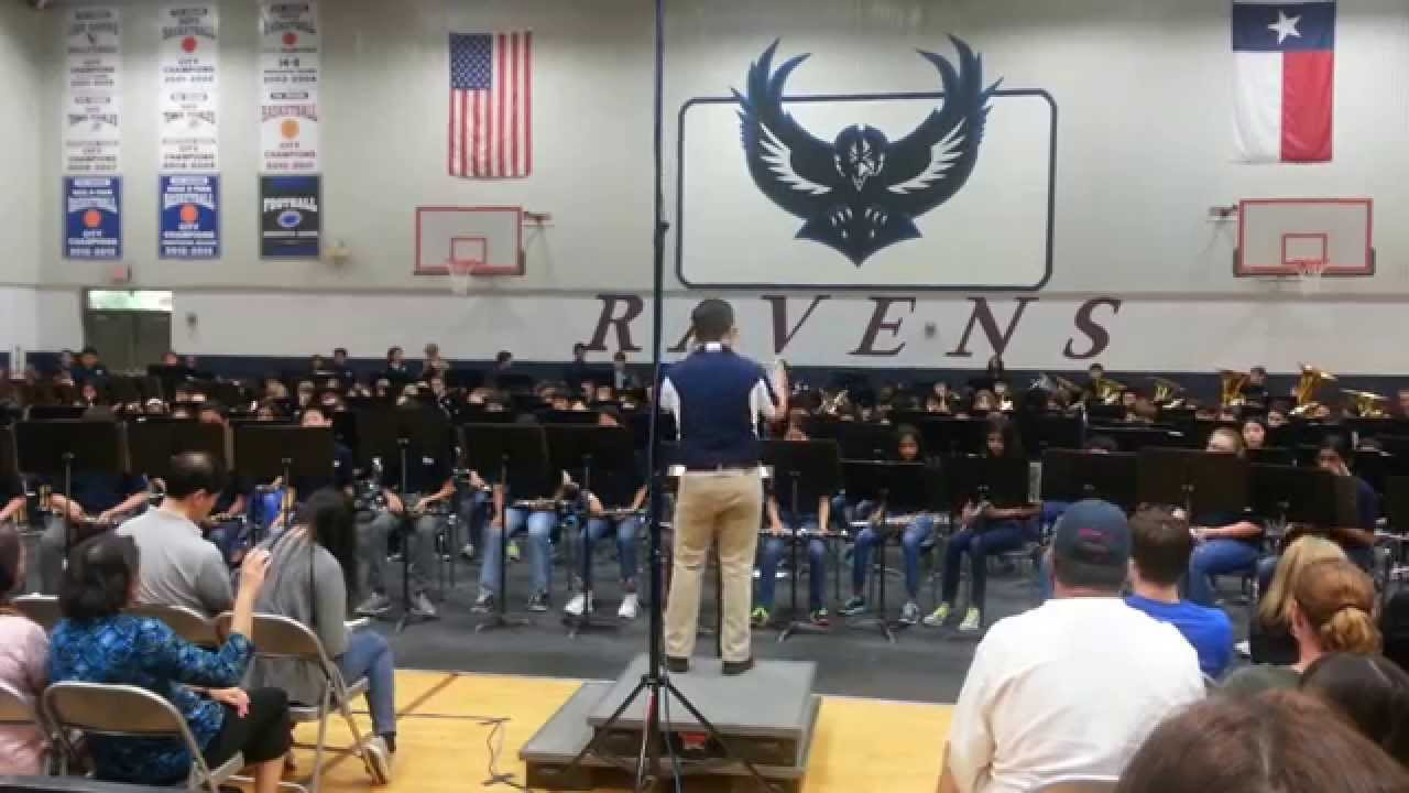 Rice MS Plano TX: Ravens Spring Band Concert 2014