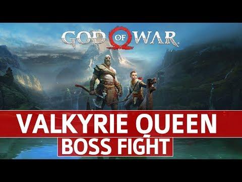 God of War - Valkyrie Queen Boss Fight