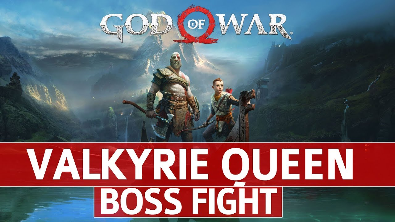 God of War - How to Defeat Valkyrie Queen Easily
