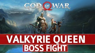 God of War - Valkyrie Queen Boss Fight