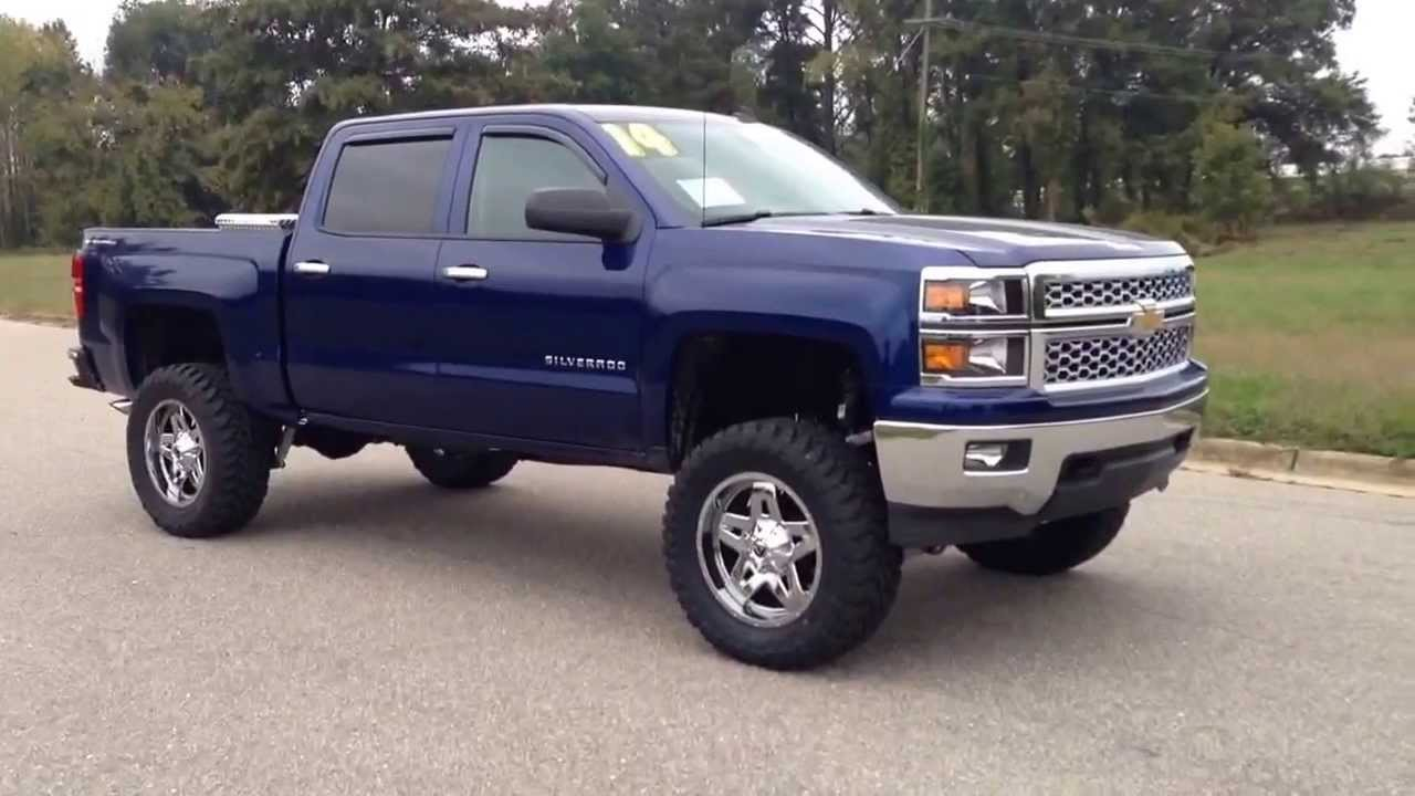 New Custom 2014 Chevrolet Silverado Lifted And