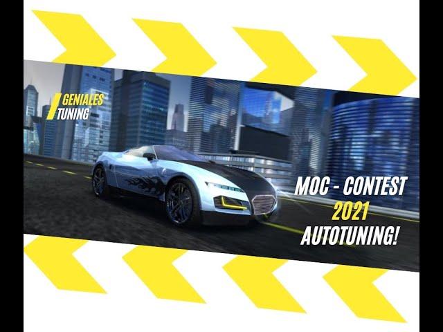 Lego MOC Contest Autotuning Speed Champions 2021