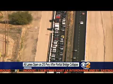 I 215 Through Perris Reopens Following Partial Bridge Collapse «