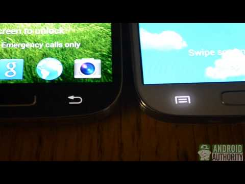 Samsung Galaxy S4 – Frost White vs. Mist Black [video]