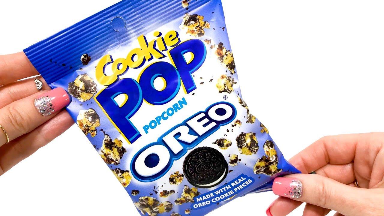 OREO POPCORN - Unwrapping