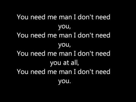 Ed Sheeran 'You Need Me, I Don't Need You' in the Live Room Lyrics