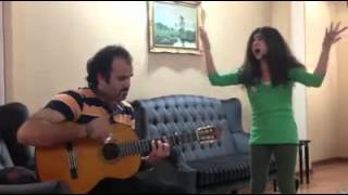 Googoosh - Hese Mobham - گوگوش: حس مبهم  COVER BY LITTLE GIRL