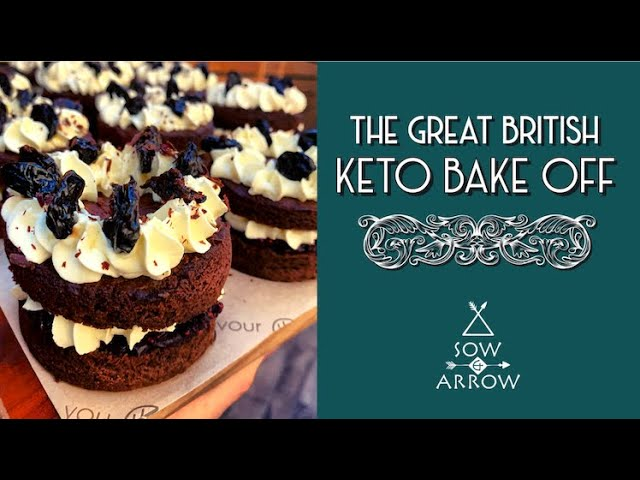 Great British Keto Bake Off: Our 80's Black Forest Gateaux