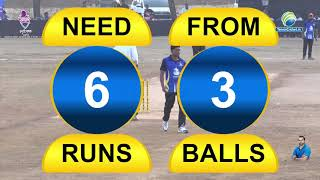 6 Ball 8 Runs Defended By Sandeep Bhoir | Ranjit Smruti Chashak 2019 || Thane || Day 5