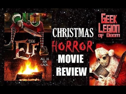 THE ELF ( 2017 Natassia Halabi ) Killer Doll , Christmas Horror Movie Review