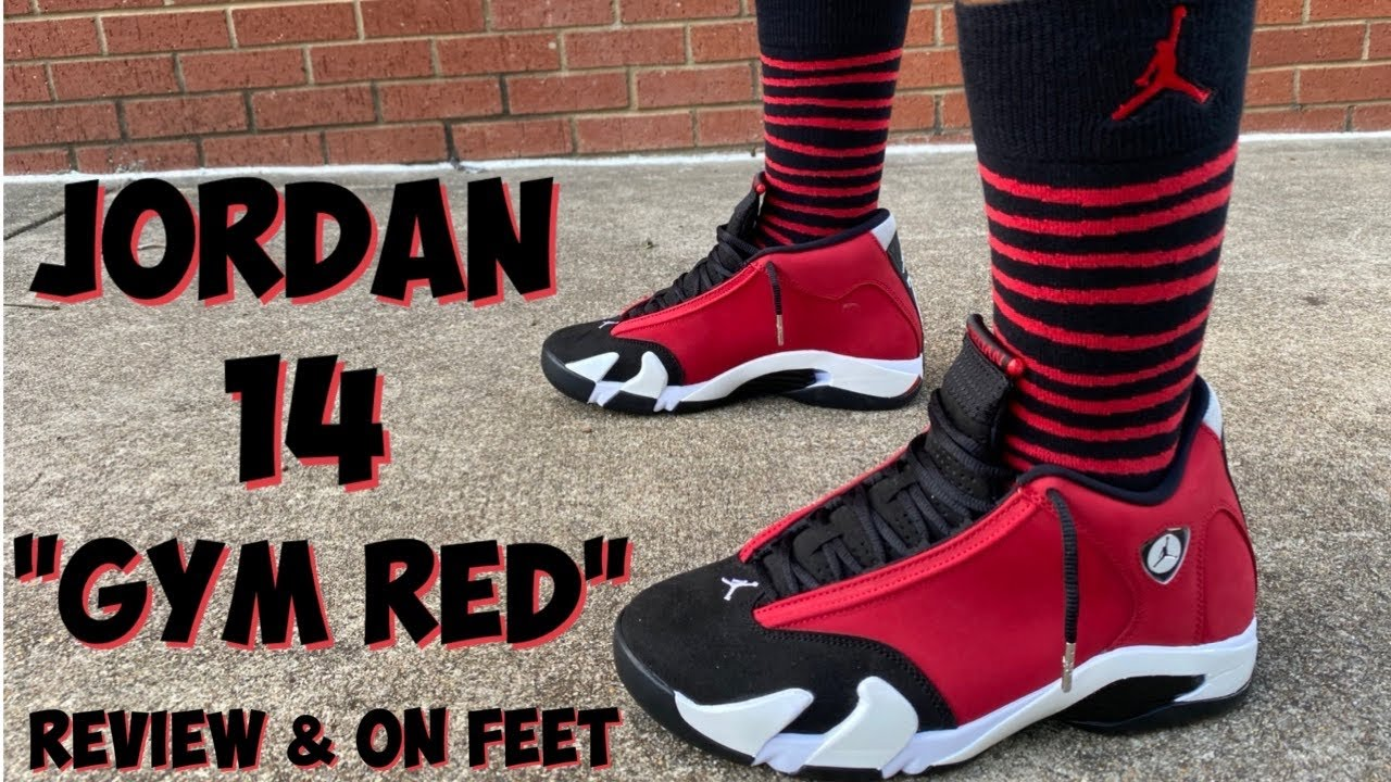 JORDAN 14 GYM RED REVIEW AND ON FEET
