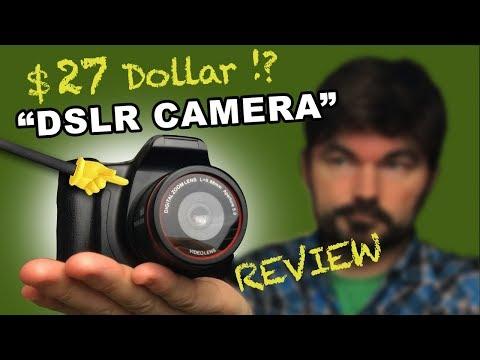 $27 Dollar DSLR Camera - REVIEW (