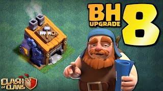 BUILDER HALL 8!!! JOURNEY to GEARED UP MULTI MORTAR! Clash of Clans