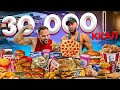 Gambar cover 30 000 КАЛОРИЙ ЗА 24 ЧАСА | ЭТО ВООБЩЕ РЕАЛЬНО? | 30 000 Calorie Challenge