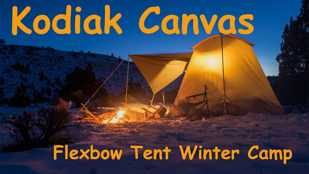 Kodiak Canvas Cabin Tent With Awning