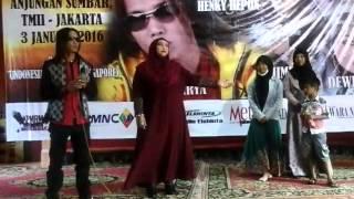 Thomas Arya feat Rinna Ahmad anjungan TMII jakarta