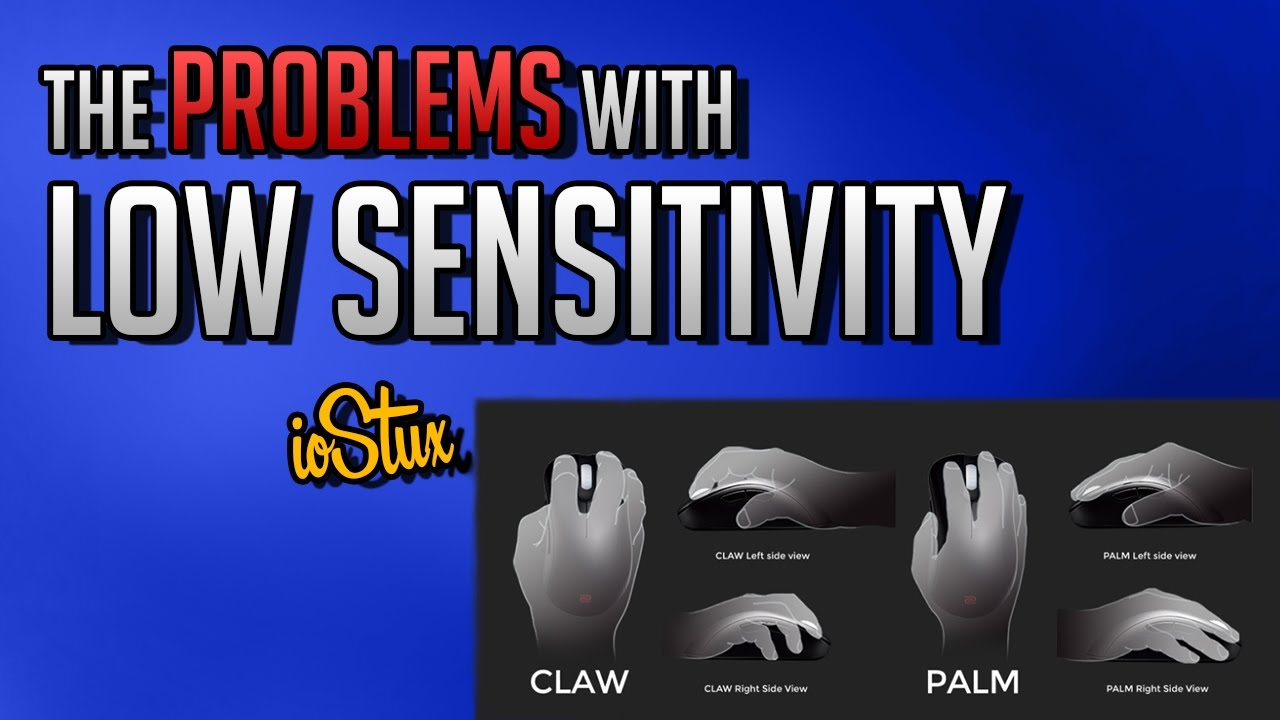 Overwatch: The problems with low Sensitivity (Lazy Aim)