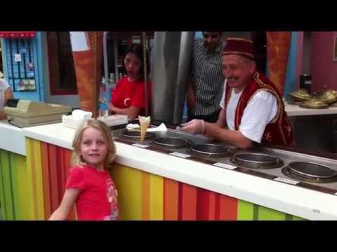Turkish Ice Cream Man Show in Singapore