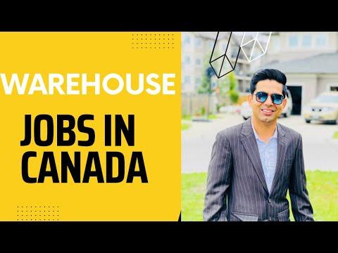 Warehouse Jobs In Canada