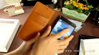 Vega r3 leather case Flip Cove…