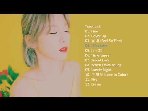 TAEYEON – My Voice 1st Album [With Buttons]