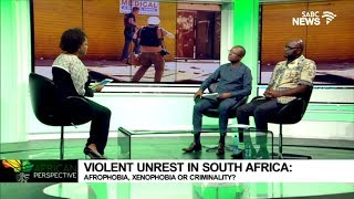 African Perspective: Violence in SA, 04 September 2019