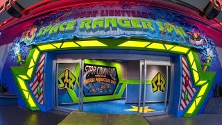 360º Ride on Buzz Lightyear's Space Ranger Spin at Magic Kingdom