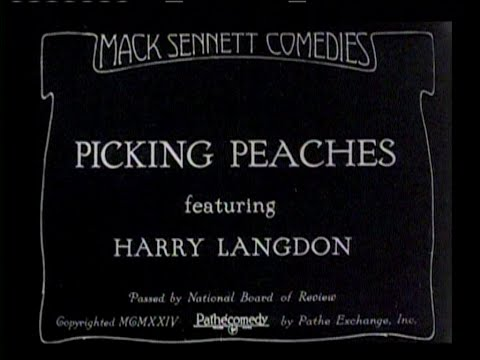 1924 - Picking Peaches (Rótulos en Castellano)