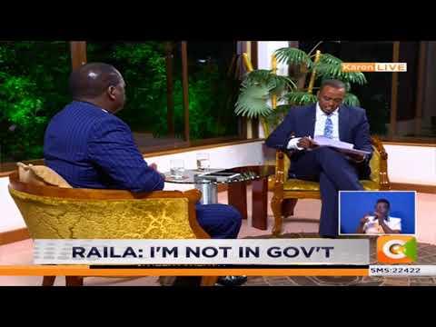Raila Odinga's First Post-Handshake Interview #Newsnight #RailaOnCitizen