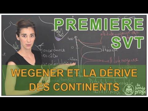 Wegener et la dérive des continents - SVT - 1ère S - Les Bons Profs